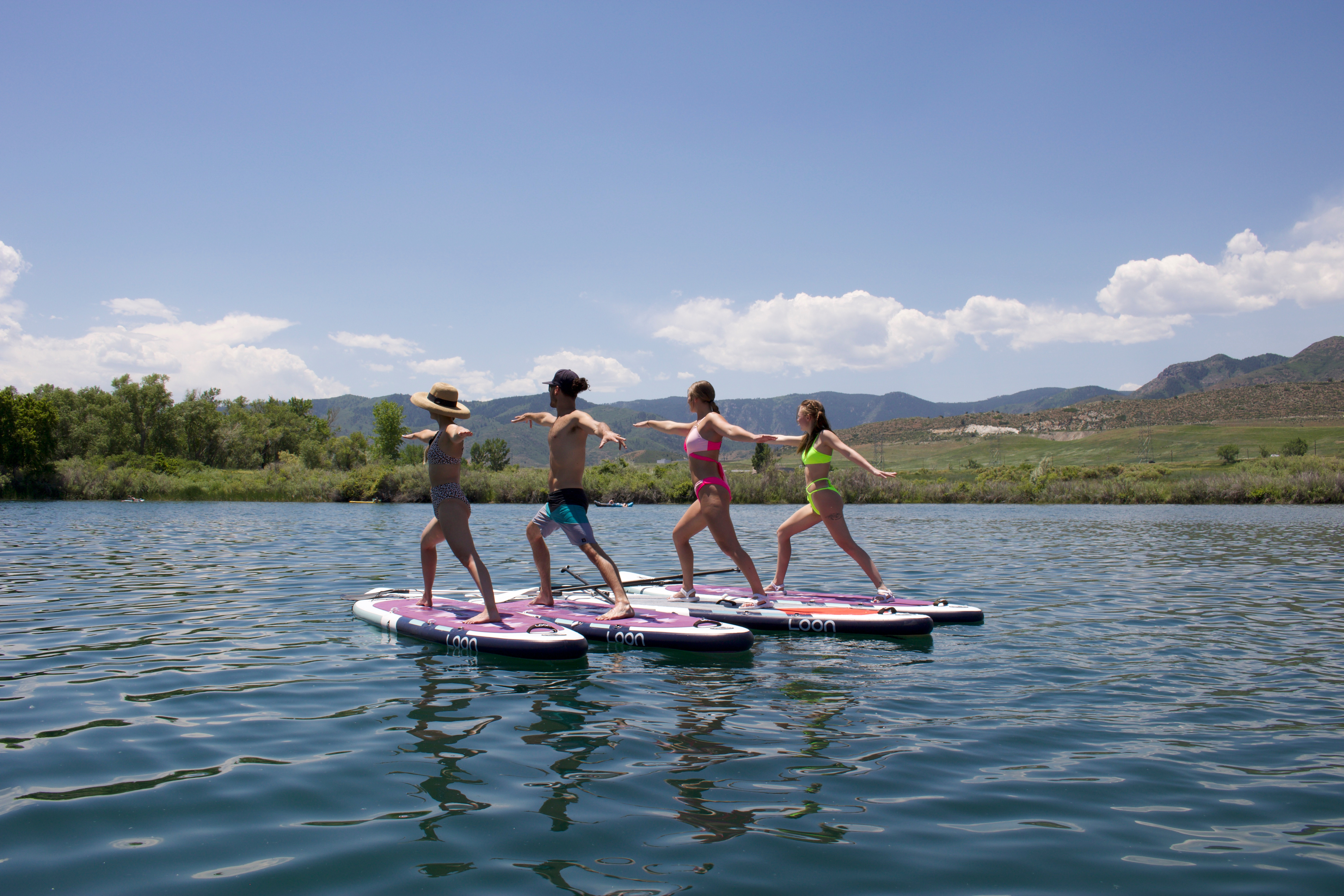 Group 2 hr SUP Yoga Session