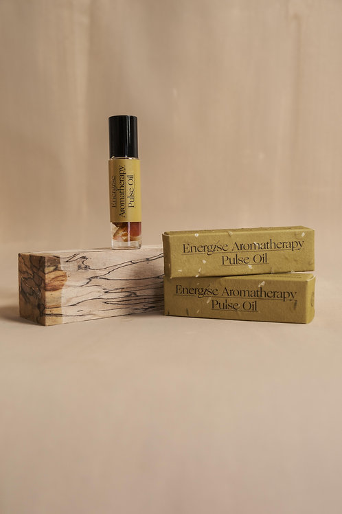 ENERGISE AROMATHERAPY PULSE OIL