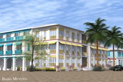 Apartment building, Bahia Muyuyo, Guayas, Ecuador