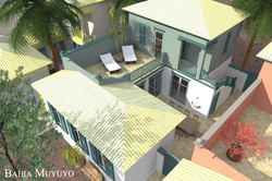 Side-yard house, Bahia Muyuyo, Guayas, Ecuador