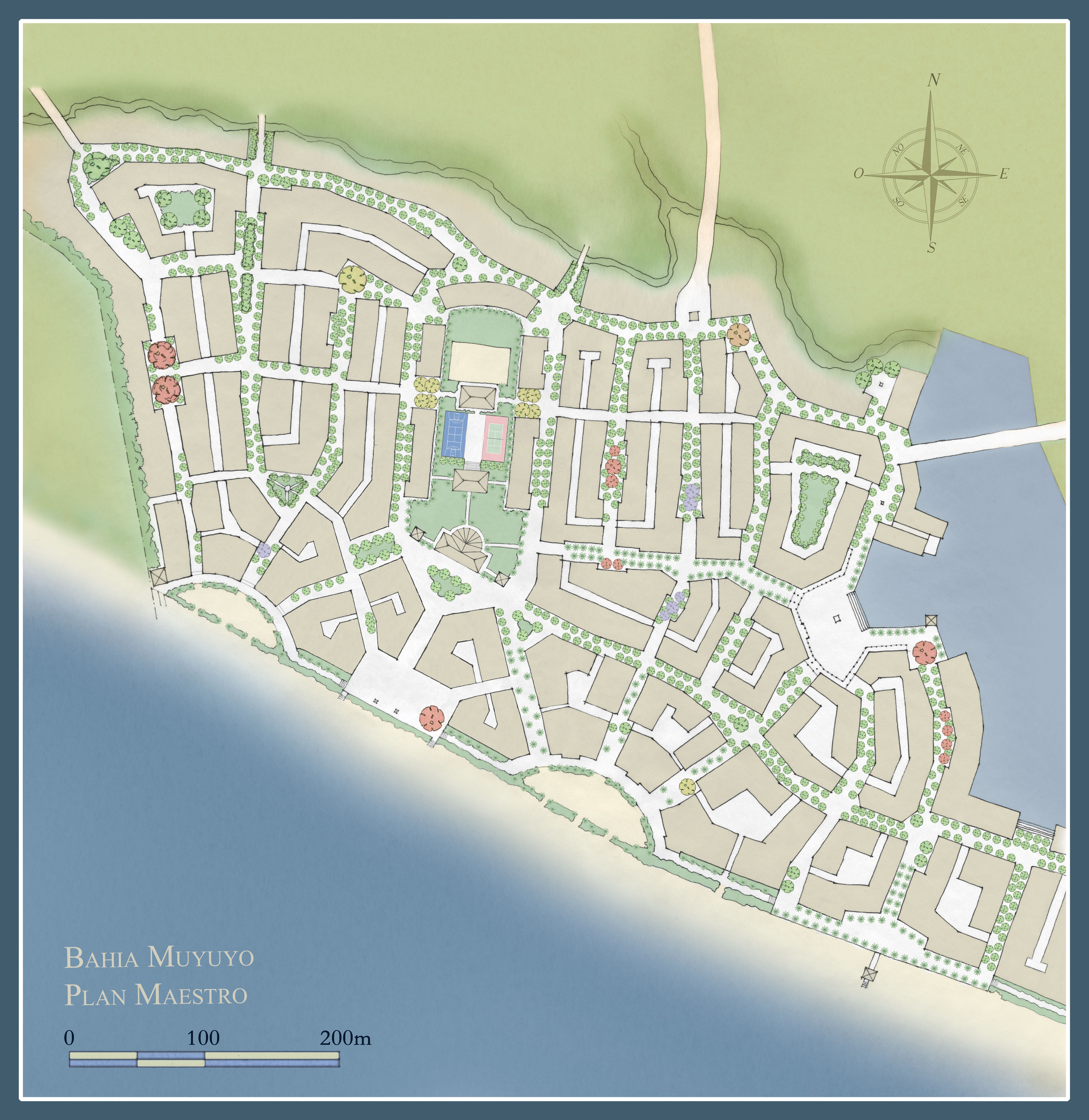 Bahia Muyuyo first beach village