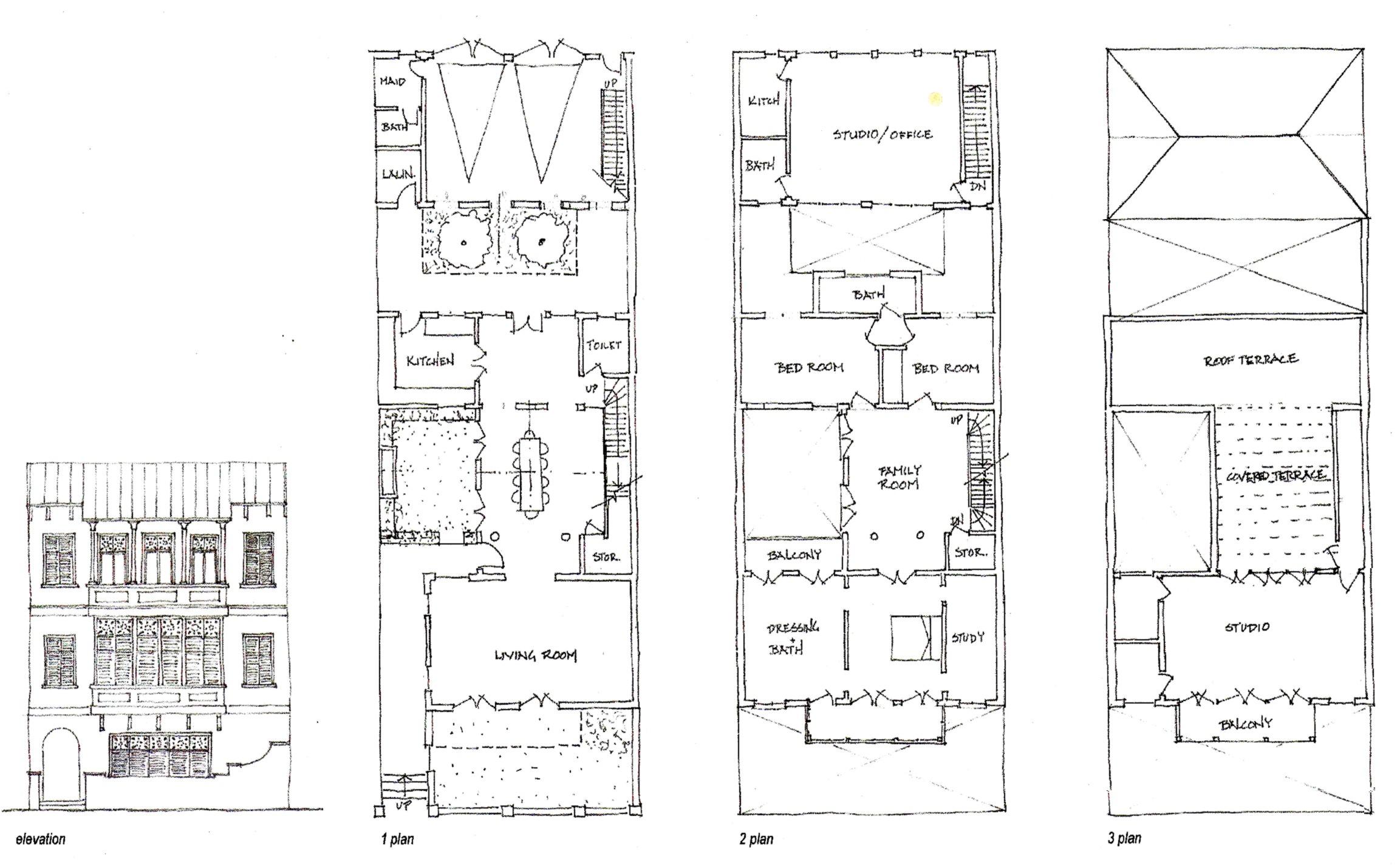 Town house design for Quayaquil, Ecador.jpg