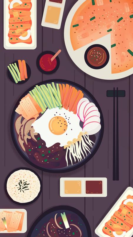 Korean feast
