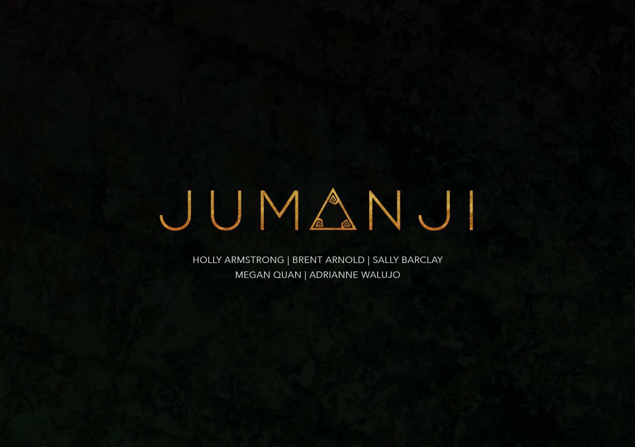 Jumanji - Title
