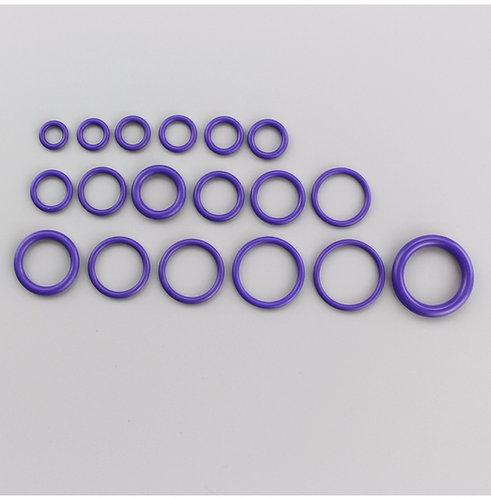 Каучукове (NBR) ущільнююче кільце (дюймові та метричні розміри)