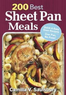 200 Best Sheet Pan Meals Book Cover