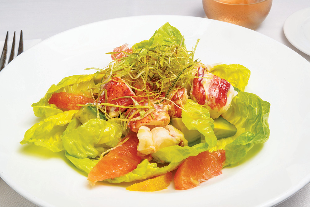 Lobster salad with citrus vinaigrette by Chef Collin Crannell