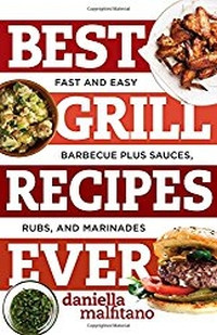Best Grill Recipes Ever book cover