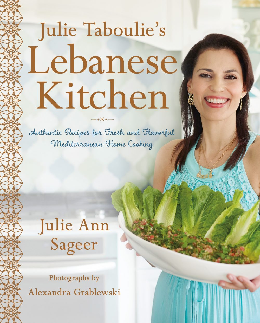 Julie Taboulie's Lebanese Kitchen Book Cover