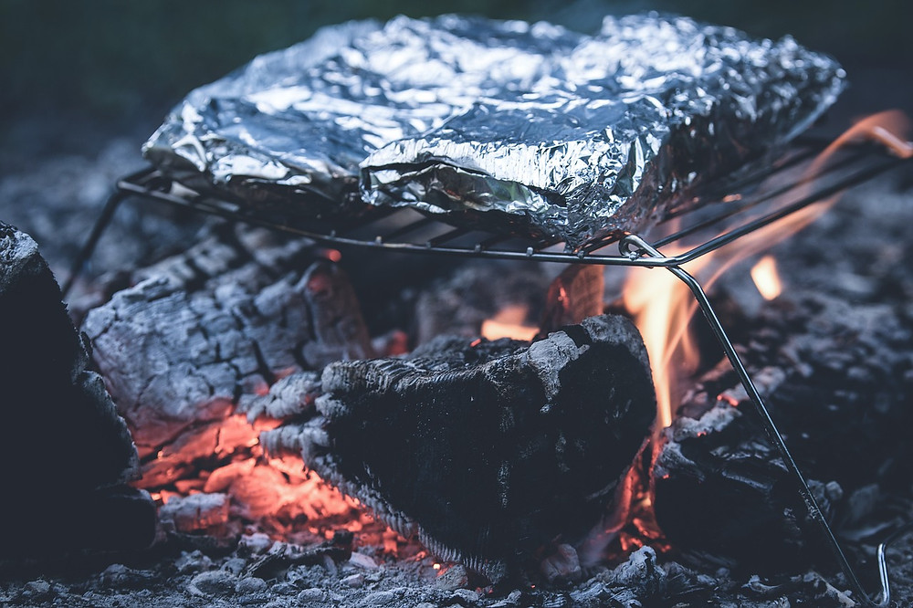 Cooking with Foil on Grill