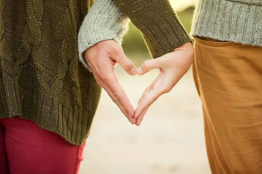 Friends Heart Hands