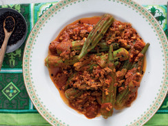Spicy Turkish Okra