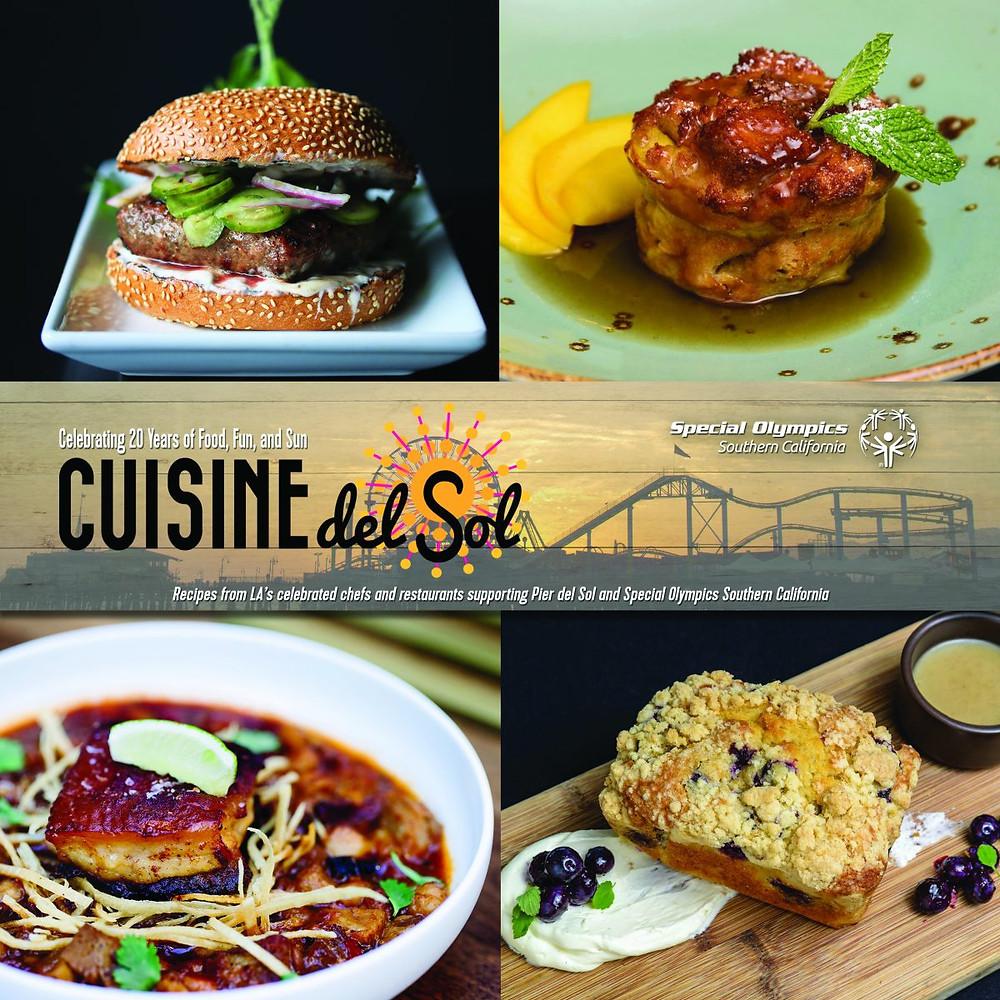 Cuisine del Sol Cookbook Cover