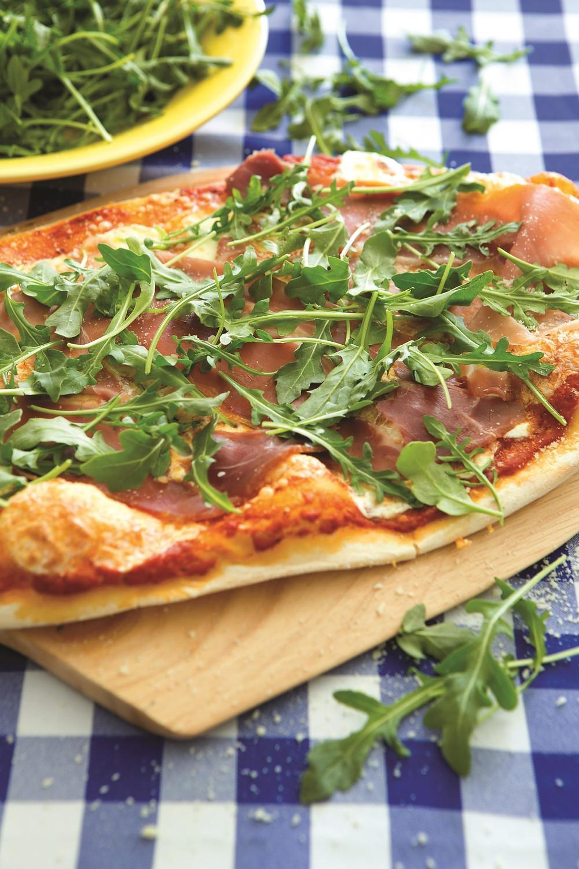Todd English's Prosciutto and Arugula Pizza