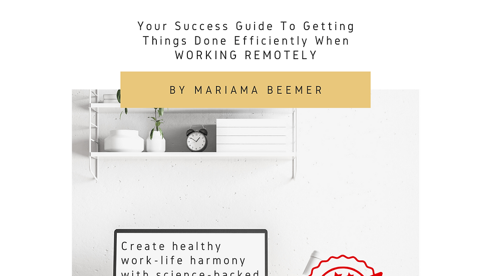 Pants Are Optional - Your guide to be successful while working remotely