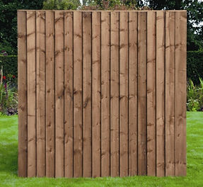 Essex Fencing Close board fence panel