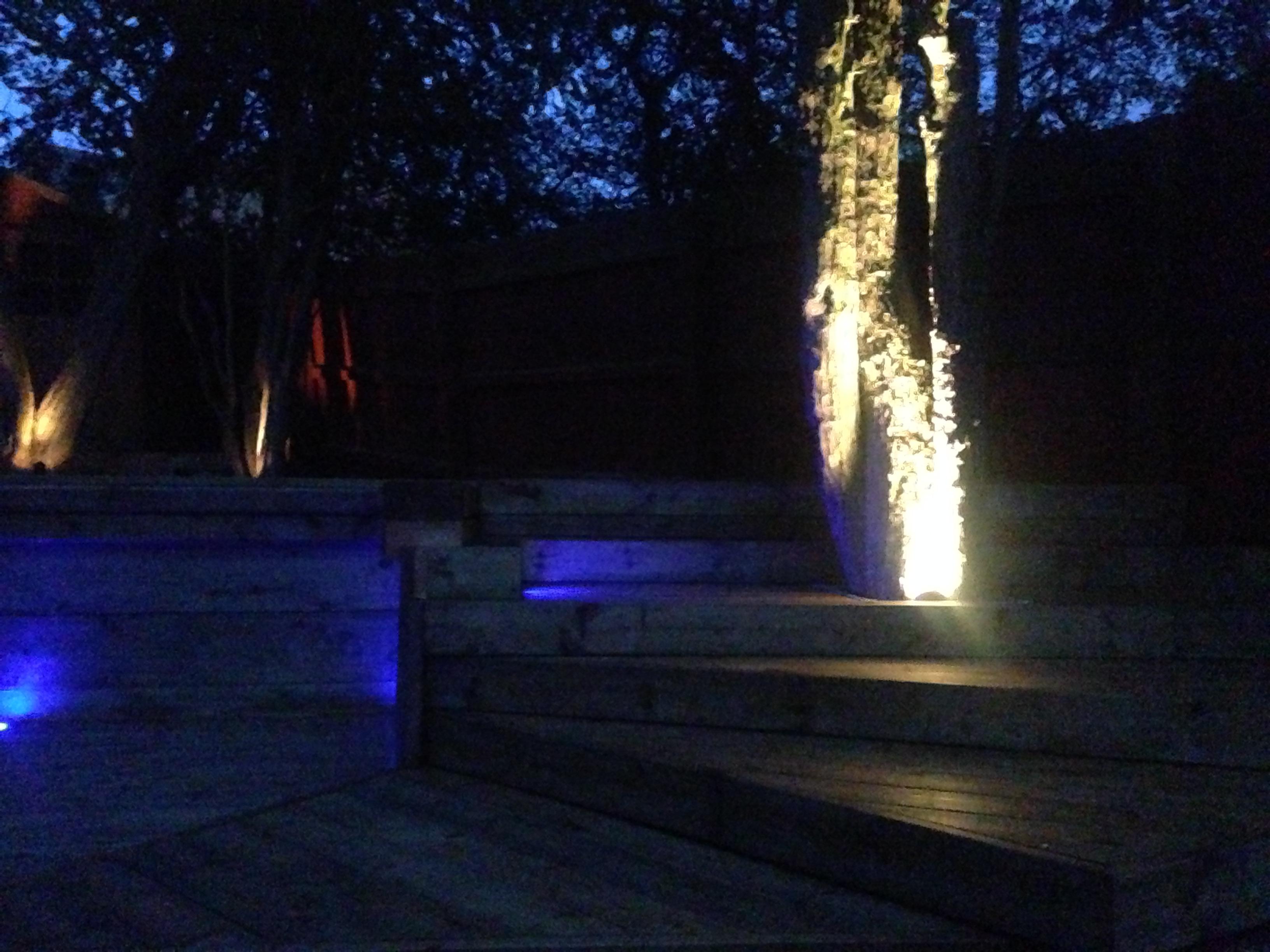 Pool Deck lights