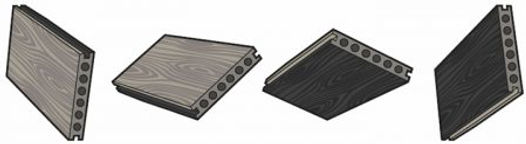 Composite Prime HD Dual Decking from Essex Decking and Fencing