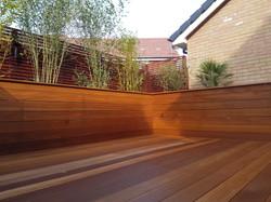 Balau hardwood deck