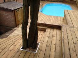 Timber deck Bishops Stortford