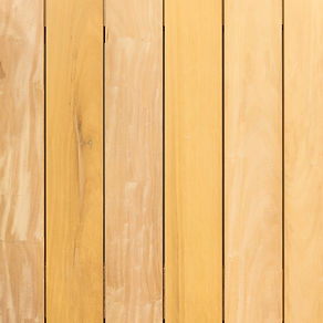 Garapa hardwood has a natural resistance to decay