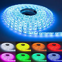 LED deck strip lighting usually comes in 5 metre rolls. We can supply any colour you want