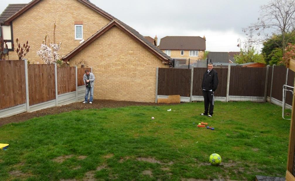 Chafford Hundred garden