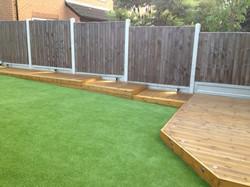 Modern Garden Deck