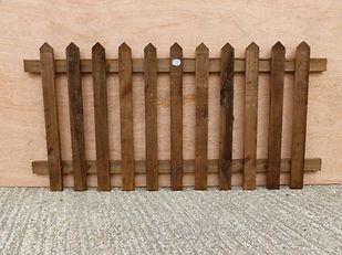 Essex Fencing picket fence panel