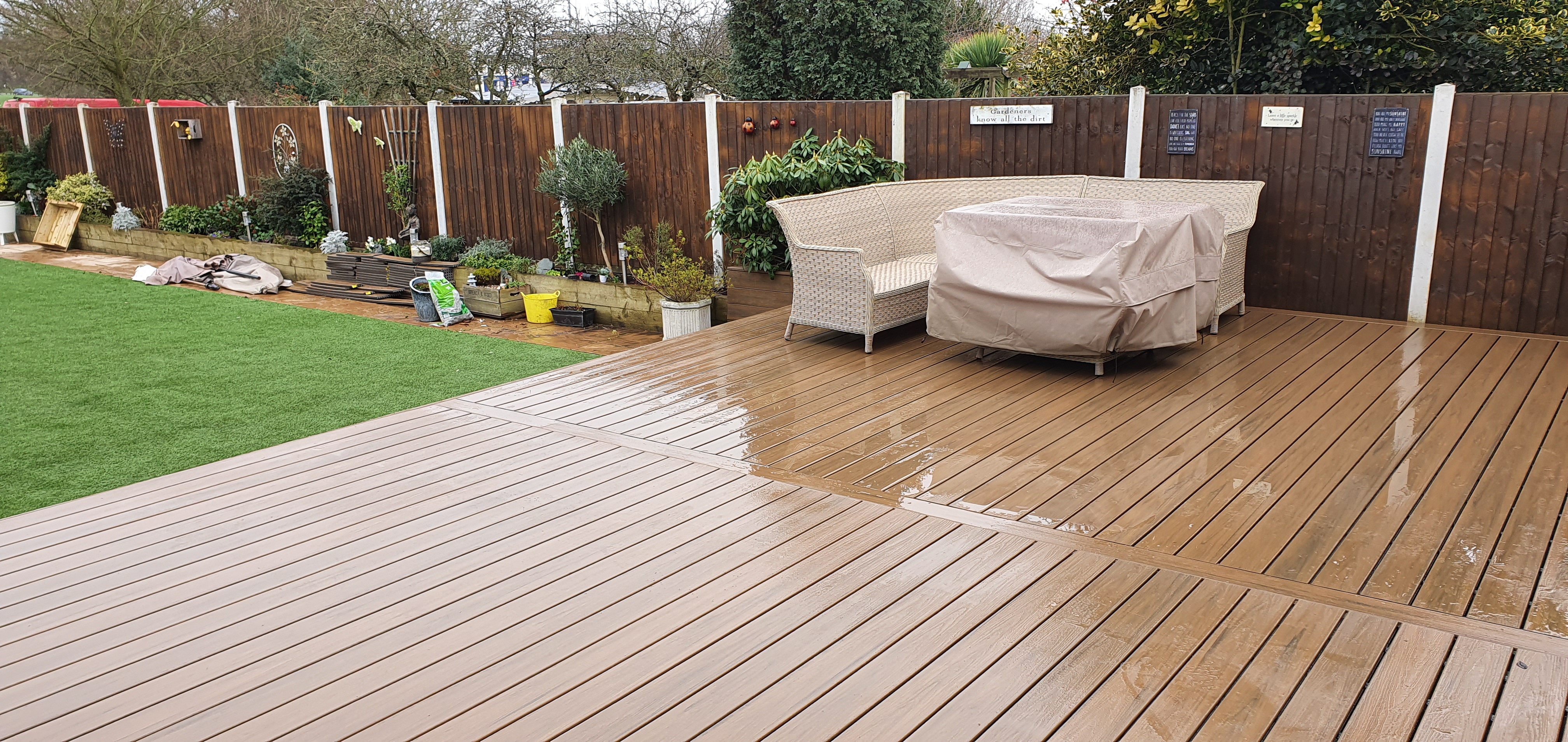 Trex decking in Essex