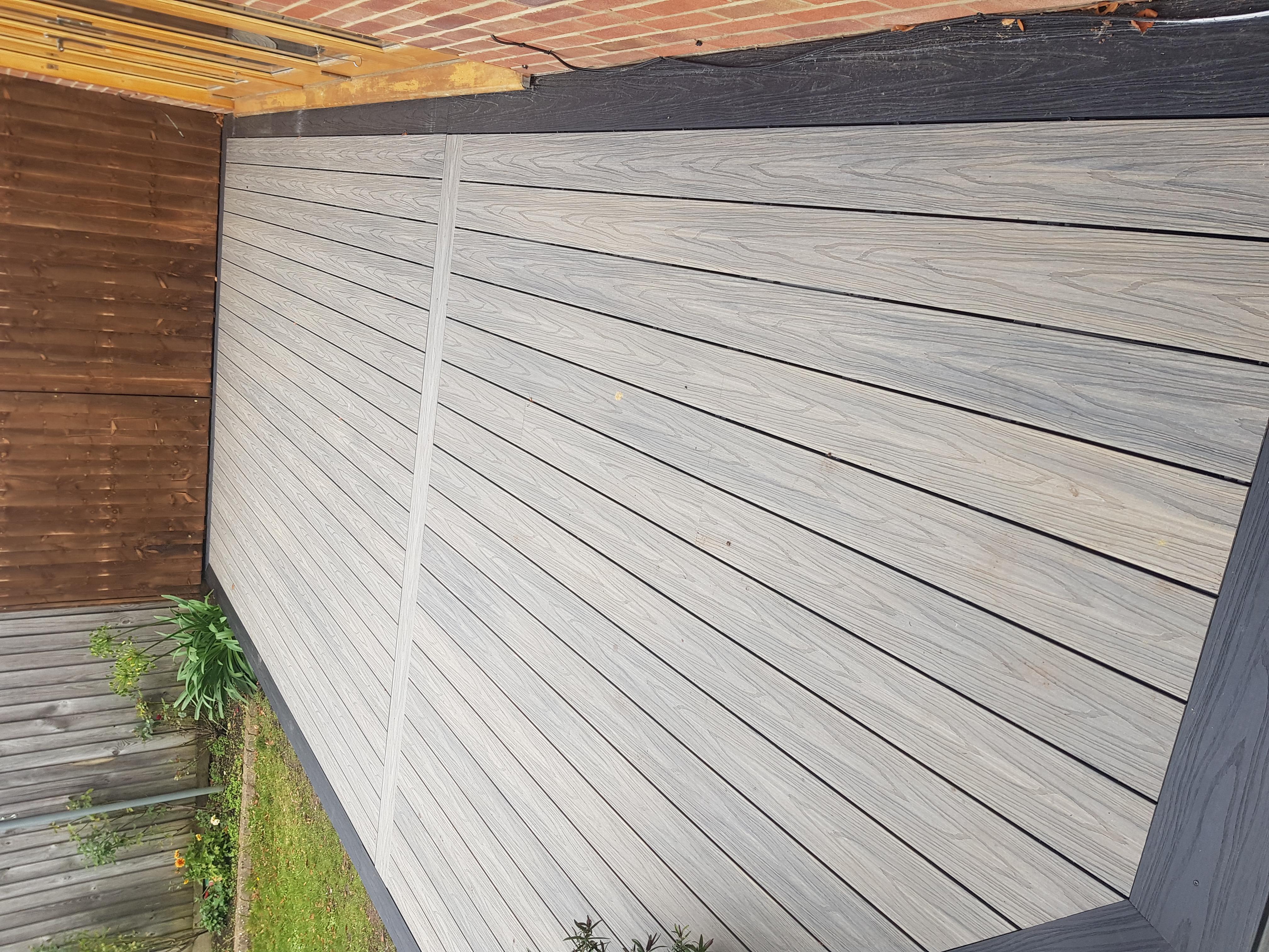 Composite decking Sawbridgeworth