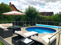 Pool deck Colchester
