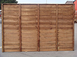 Essex Fencing overlap fence panel
