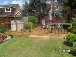 Garden Deck Elsenham