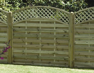 Essex Fencing decorative fence panel