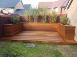 Hardwood deck Basildon
