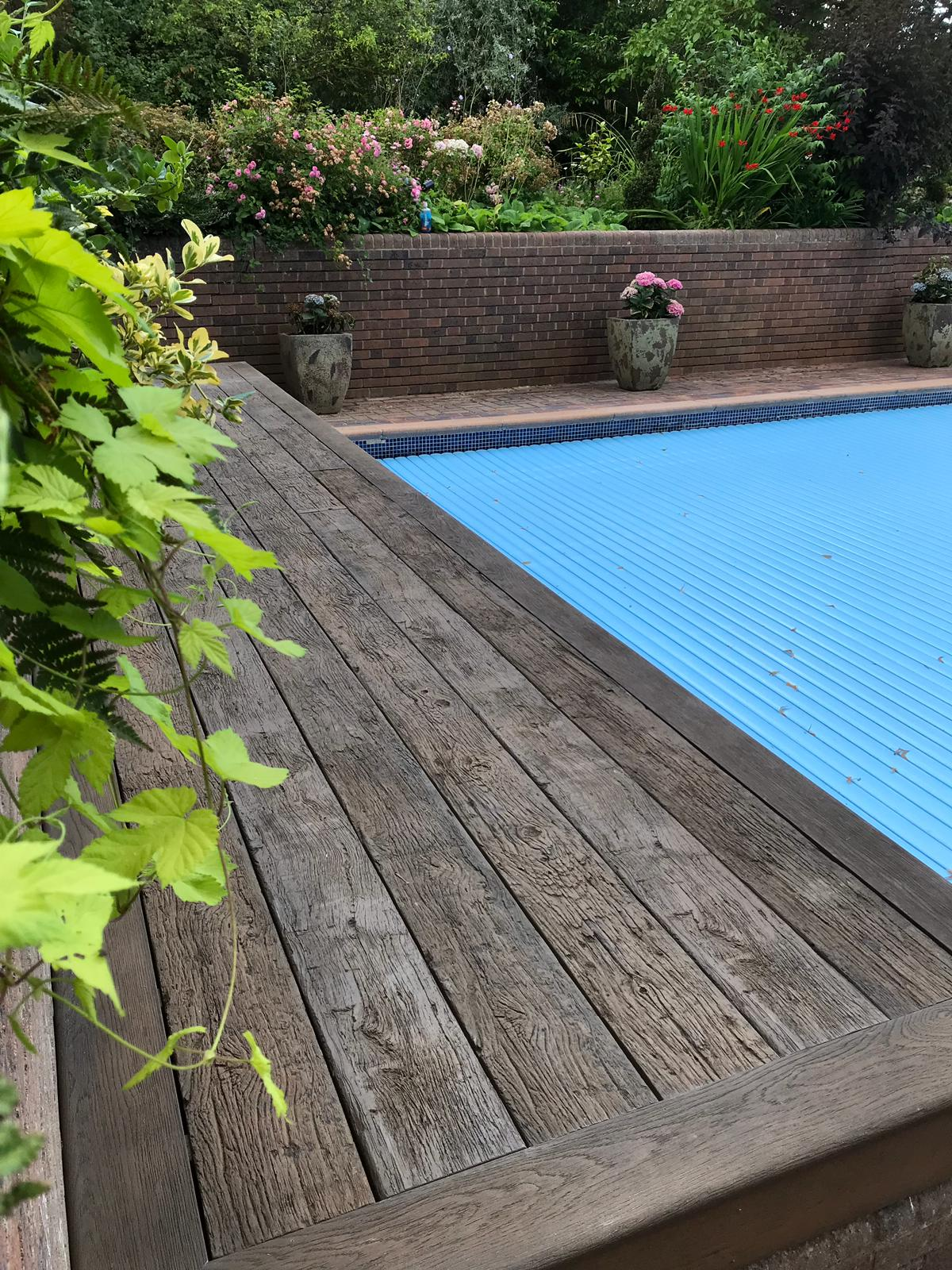 Millboard weathered oak