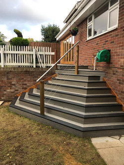 Custom built steps