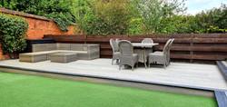 Composite deck in Ingatestone, Essex
