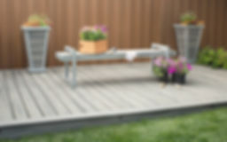 Composite decking is vailable in many colours, shades and textures. Trex is one of the best avilable.
