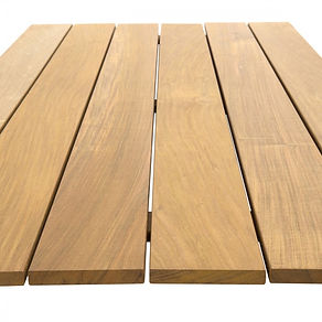Ipe decking is one of the hardest woods on earth. Great quality, beautiful coulours