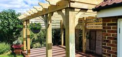 Timber Pergola Chelmsford