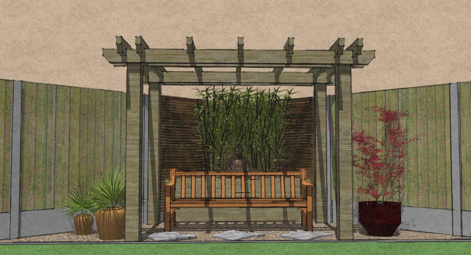 Show garden corner