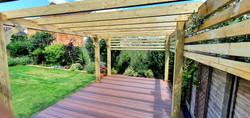 Composite deck in Chelmsford Essex