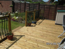 Garden Deck in Elsenham