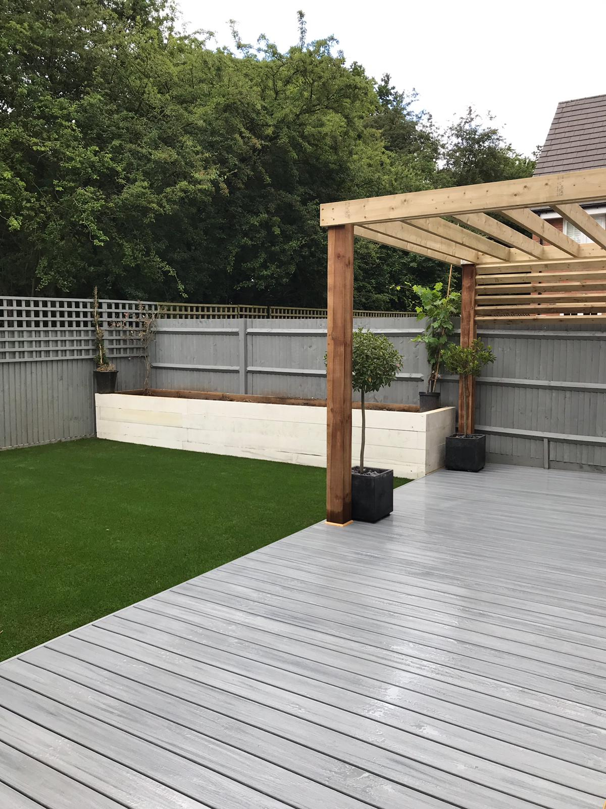 Trex composite decking in Takeley Essex