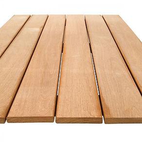 Balau hardwood decking is a great choice for a hardwood deck.