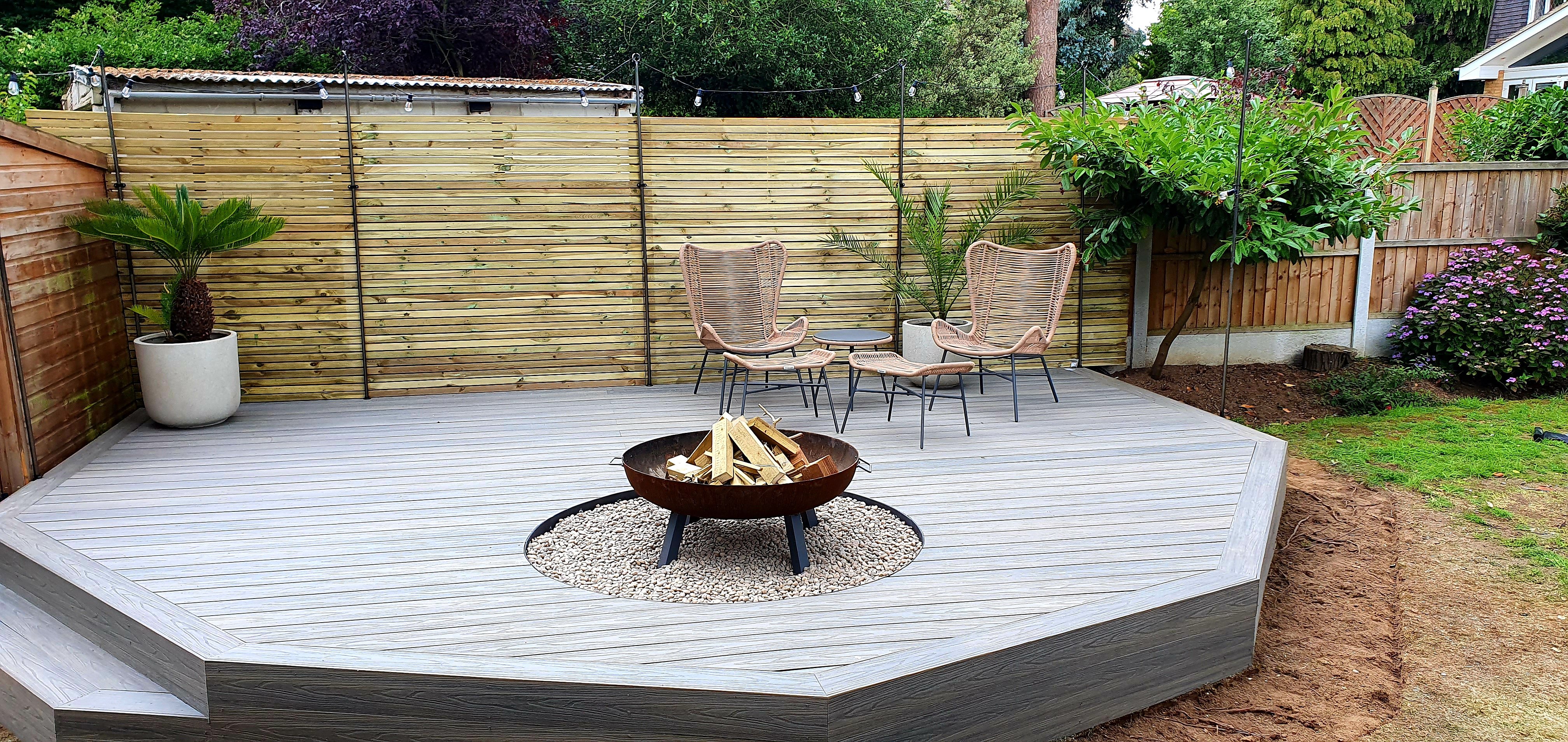 Composite decking in Essex