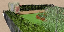 Hatfield Heath front garden