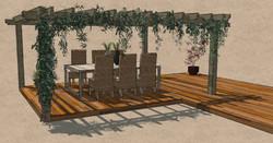 Softwood deck Gilston